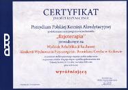 Certyfikat PKA